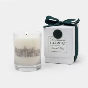 Biltmore Frosted Pine Candle