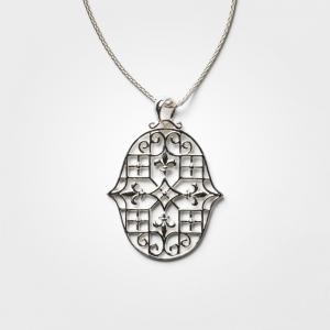 Fleur-de-Lis náhrdelník