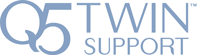 Q5 Twin Support Feature Logo