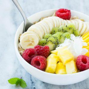 Recept na ovocnou a ovesnou snídani