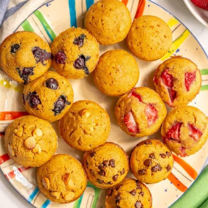Recept na muffin z celozrnné palačinky