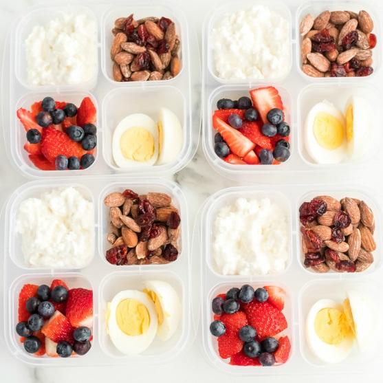 Recept na zdravý proteinový box
