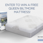 Enter to win a free Queen Biltmore Mattress from Restonic.