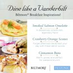 Dine like a Vanderbilt at Biltmore