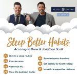 Sleep Better Habits - Scott Living