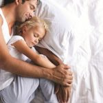 sleeping dad - trade ad